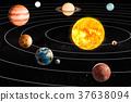 solar system planets 37638094