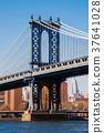 Manhattan bridge from Washington street, Brooklyn 37641028