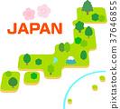 ประเทศญี่ปุ่น,แผนที่,น่ารัก 37646855