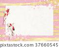 frame, sum, colored carp 37660545