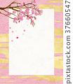 日本現代櫻花框架 37660547