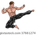 karate, kick, kung 37661274