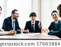商業場景日本人和外國人 37663884