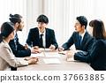 商業場景日本人和外國人 37663885