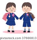 입학식 초등학생 37666813