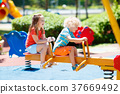 playground, kids, child 37669492