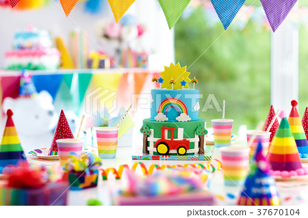 Stupendous Boy Birthday Cake For Little Child Kids Party Stock Photo Funny Birthday Cards Online Inifofree Goldxyz