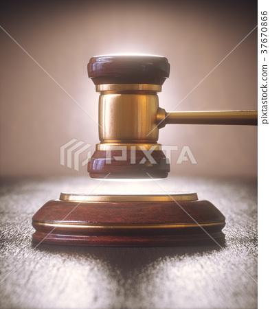 Judge Hammer Gavel Bid Auction 37670866