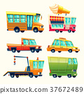 Public and urban passenger transport vector 37672489