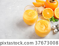 smoothie, persimmon, orange 37673008