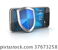 Smart Phone with Shield 37673258