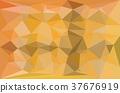 Yellow and gray triangular pattern 37676919
