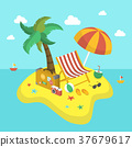 summer holiday 3d isometric infographic 37679617