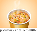 Seafood Cup Noodles 37690807