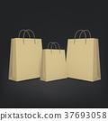 3d blank shopping bags 37693058