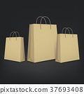 3d blank shopping bags 37693408