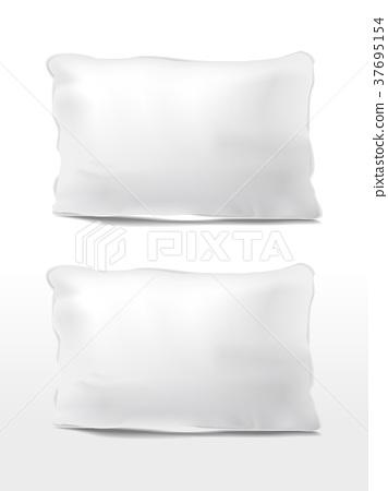 blank pillows set 37695154