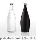 glass bottle template set 37698014