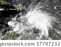 Tropical cyclone in the Caribbean Sea. 37707232