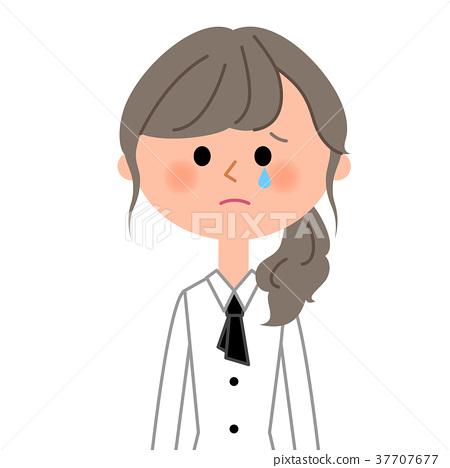 咖啡馆员工职员哭了 37707677