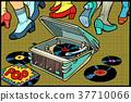 retro, music, gramophone 37710066
