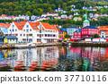 Scenery of Bergen, Norway 37710116
