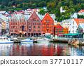 Scenery of Bergen, Norway 37710117