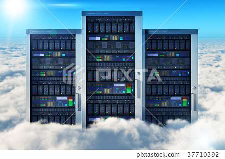 Cloud computing concept 37710392