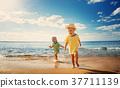 boy, girl, beach 37711139