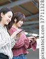 승강장 통근 통학 촬영 협조 · 게이오 전철 주식 회 37711328