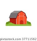 farm, barn, vector 37711562