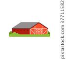 farm, barn, vector 37711582