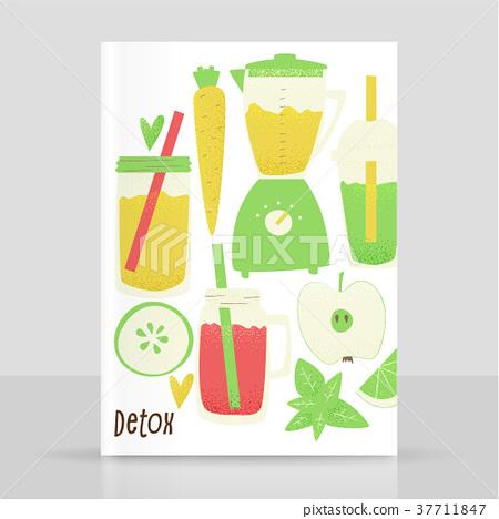 Detox smoothie 37711847