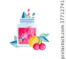 果汁 櫻桃 檸檬 37712741