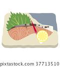 sockeye salmon grilled 37713510