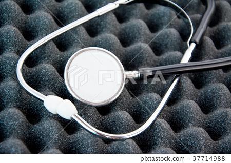 Stethoscope dual head phone medical equipment 37714988