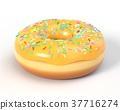 甜甜圈 結冰 糖霜 37716274