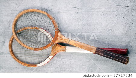 Two vintage rackets 37717534