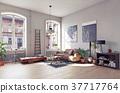 room, living, modern 37717764