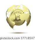 coin bitcoin money 37718547