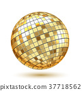 Golden Disco Ball 37718562