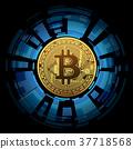 coin bitcoin money 37718568