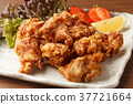 chicken, deep-fried chicken, deep-fried 37721664