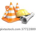 Under construction concept 3D 37722889