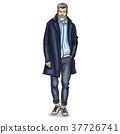 human male vector 37726741