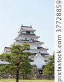 會津若松城 城堡 城堡塔樓 37728859