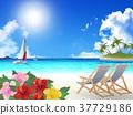 바다, 리조트, 해변 37729186