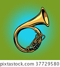 tuba French horn helicon musical instrument 37729580