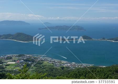 A view from Hiraocho Oseyama Observatory in Yamaguchi Prefecture 37733591