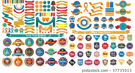 Vintage Retro Vector Logo for banner 37735013